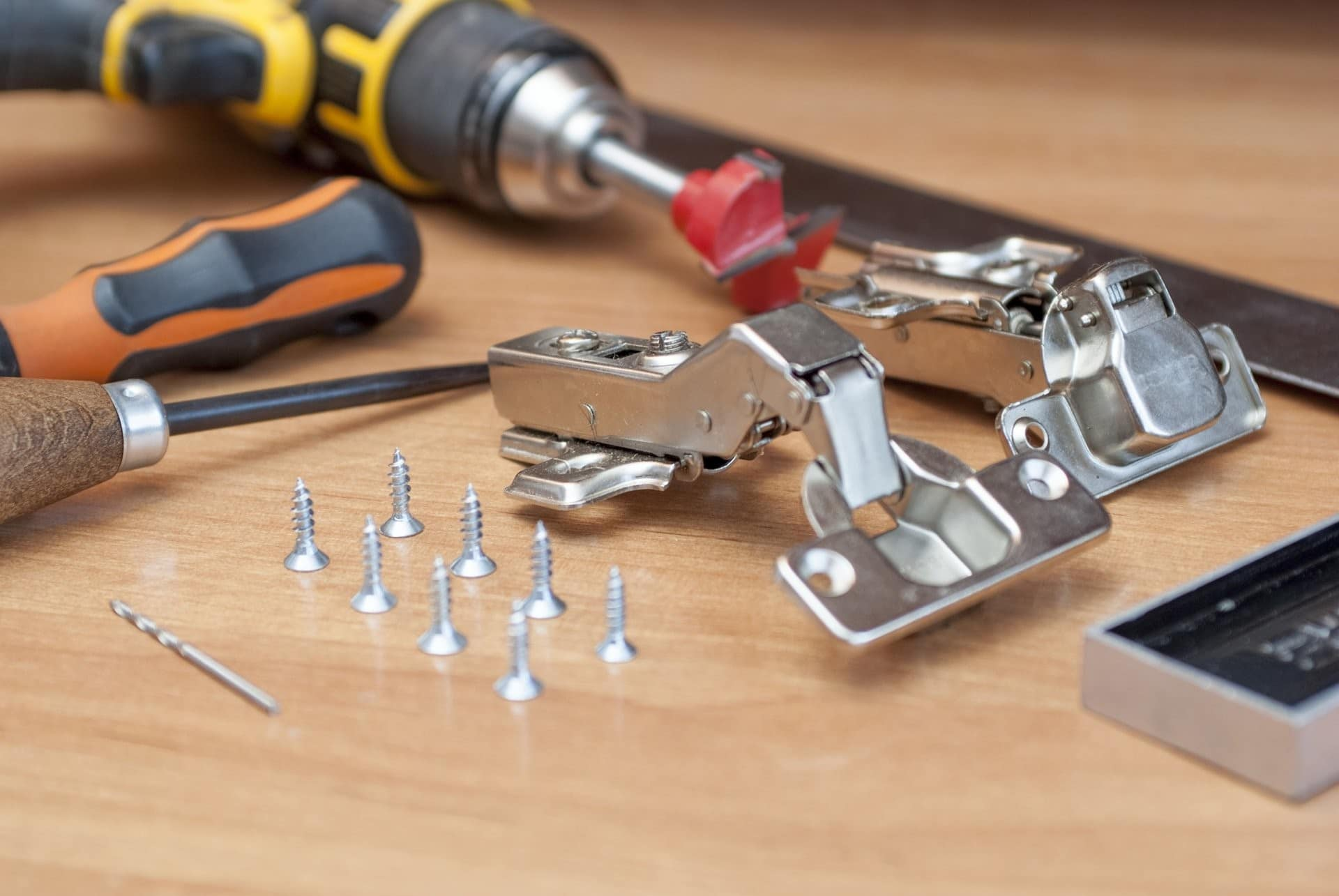 some metal tools for disassembling furniture in dmv area